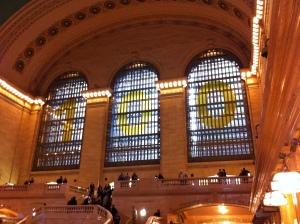 Grand Central Terminal: vista delle vetrate del centenario 1913-2013!