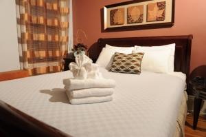 Ecco come si presente un queen bed più che decente (foto inviata a me)