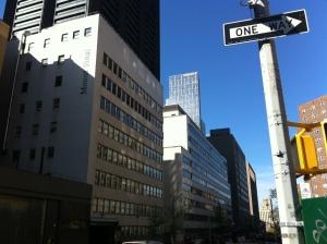 Scorcio di alcuni edifici del Mount Sinai Medical Center, visto dalla 5th Avenue.