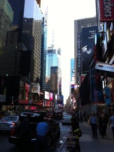 Times Square! Finalmente arrivato!