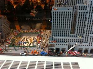 Il negozio Lego all'ingresso del Rockfeller Center! Spettacolare!!