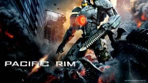Una delle locandine del film, che raffigura il robot Gipsy Danger rimesso a nuovo... (immagine: dalla rete)