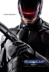 Poster del nuovo Robocop, 2014 (immagine: dalla rete)