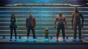 "The 5 ""Guardians of the Galaxy""! (screenshot from the net)"