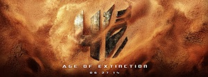 age of extinction poster logo