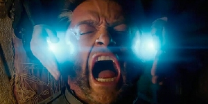 Screenshot dal trailer del film, con uno dei mitici protagonisti: the Wolverine!