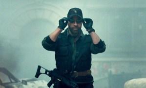 Screenshot dal film: l'entrata in scena di Chuck Norris (immagine dalla rete, ifc.com)